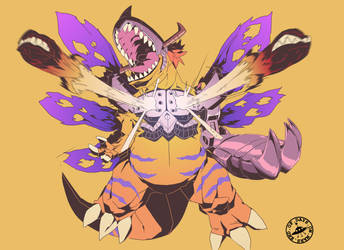 Digital Sketchbook Digimon edition by Endofdaysonmars