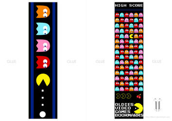 PACMAN bookmark by tibots