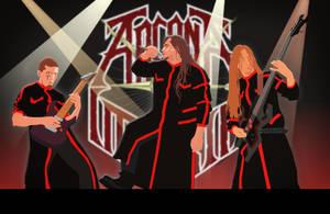 heavy metal rock group by Shiroima