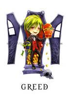 7 Deadly Sins - Greed by LanWu