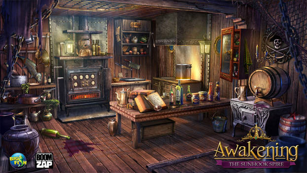 the Galley by LanWu