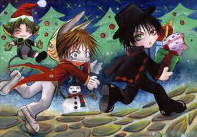Night Before Christmas by LanWu