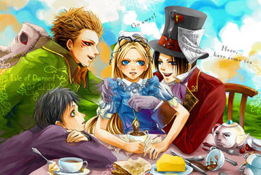 The mad tea party by LanWu