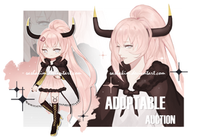 [SOLD] Zodiac Adopt Auction: Taurus by SashaKim