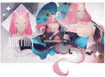 [CLOSED] Spring Flower Dragon auction by SashaKim