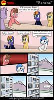 Banana Comic by 10art1