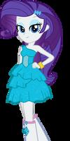 Equestria Girls: Rarity's Fall Formal Dress Vector by ponyvio
