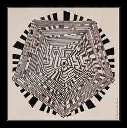 Maze 2 by DPasschier