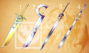 #12  Weapon Adopt (OPEN) by Adventurer-Shop