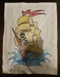 Stitching Pirates Finished! by BlushiexD
