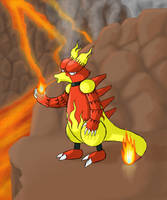 Magmar by Mietschie