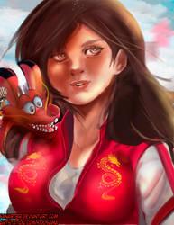 Mulan by fanartbr