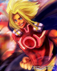 Young All might by fanartbr