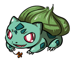 bulbasaur by ZeeKayArt