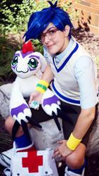 Joe Kido Digimon Adventure 01 Cosplay at ConBravo2 by ZeeKayArt