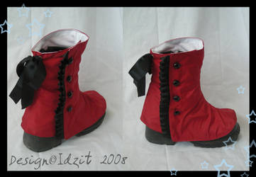 Zombie Boot spats by Idzit