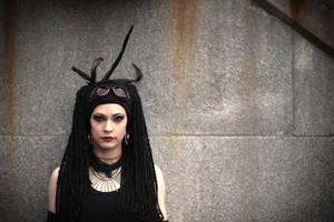 Cyber Tribal punk 05 by Idzit