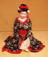 Geisha costume by Idzit