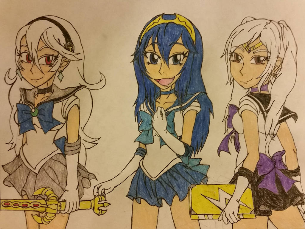 The Fire Emblem Scouts. by dcb2art