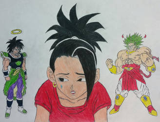 Kale's Broly Conscience by dcb2art