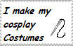 I make my cosplays stamp by Amisca