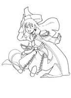 Pirate girl by HolyLancer9