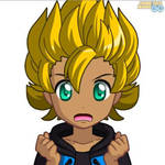 Super Saiyan Andre by Linkfourswords