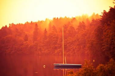 Fiery lake... by sztoli
