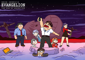 Neon Genesis Evangelion - The end of animation by ghostly666