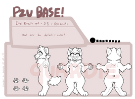 Fursuit Reference p2u base by quardie