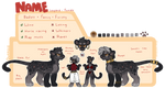 black leopard collab auction - ended by quardie