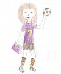 Pilkarka / Female footballer by szymmirr