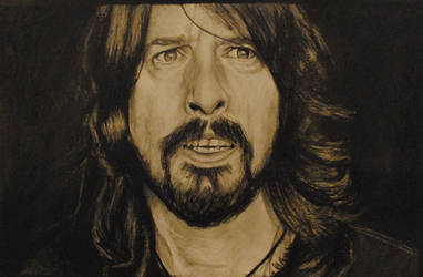 Dave Grohl-Foofighters by Plishman