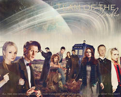 Team of the Tardis by Linkin-Alice