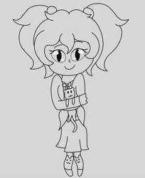 Marni Outline (Switch Around Meme) by Dragoncraft79