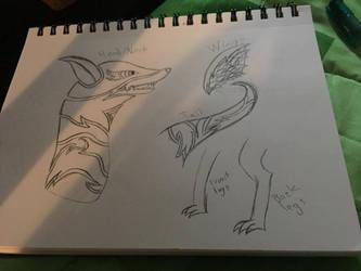 New Oc (Draft) by Dragoncraft79