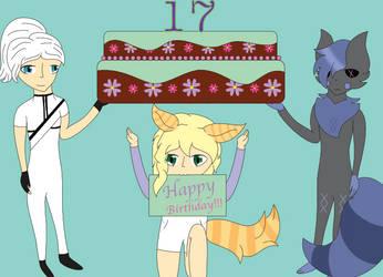 HAPPY BIRTHDAY MINTY! by Dragoncraft79