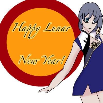 Happy Lunar New Year by Dragoncraft79