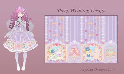 bodyline print contesr: sweet lolita design by Angelinell