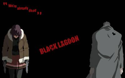 Black Lagoon - Revy VS Ginji Matsuzaki by Airkane