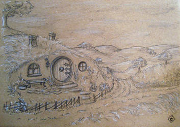 Outskirts of the Shire by Tindome-Art