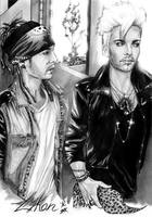 Twins Time by LykanBTK