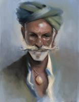 Portrait study by subinbagdi