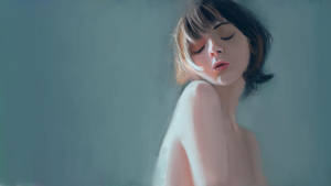 Portrait study again by subinbagdi