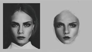 Portrait Grayscale by subinbagdi