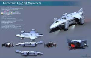 La-500 Muromets by Ergrassa