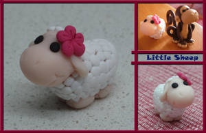 Fimo_Little Sheep by Meru-TPoD