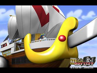 I sail away by Vilain-pabo