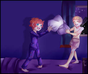 .:South Park:. K2 week - Sleepover! by N-Lilix