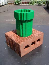 Lego Warp Pipe by cezkid